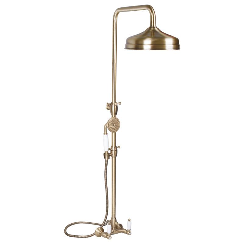 Душевая система с тропическим душем и смесителем цвет бронза Bianchi First ESDFRS1057#026VOT