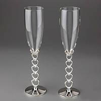 Свадебные бокалы Kimberly,бокалы на свадьбу