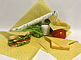 Восковая салфетка обертка для продуктов, воскова серветка обгортка, фото 10