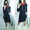 "Трикотажное платье ""Respect""  Норма и батал, фото 6"