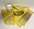 Восковая салфетка обертка для продуктов, воскова серветка обгортка, фото 6