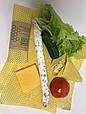 Восковая салфетка обертка для продуктов, воскова серветка обгортка, фото 7
