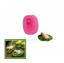 """Молд силиконовый """"Лягушка"""" - размер молда 2,2*1,3см"""