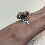 Арагонит кольцо с арагонитом кольцо с камнем арагонит в серебре размер 17,2 Индия, фото 7