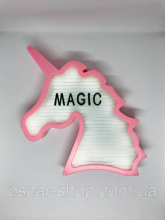 Ночник светильник Единорог Light up message board