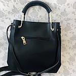 Женская сумка черная  (064-Т), фото 6