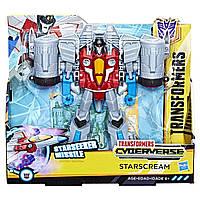 Робот-Трансформер Старскрім Кибервселенная Transformers Cyberverse Starscream Hasbro