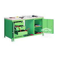 Металлический стол (верстак) Stw 402 (850(h)х1600х750 мм)