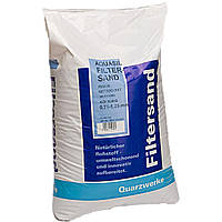 Песок кварцевый для фильтрационных установок 0,4-0,8 мм,25кг, Quarzwerke, Германия