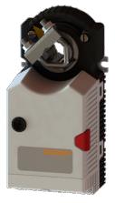 Электропривод без возвратной пружины Gruner 225C-024T-05