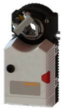 Електропривод без поворотної пружини Gruner 225C-024T-05-S2