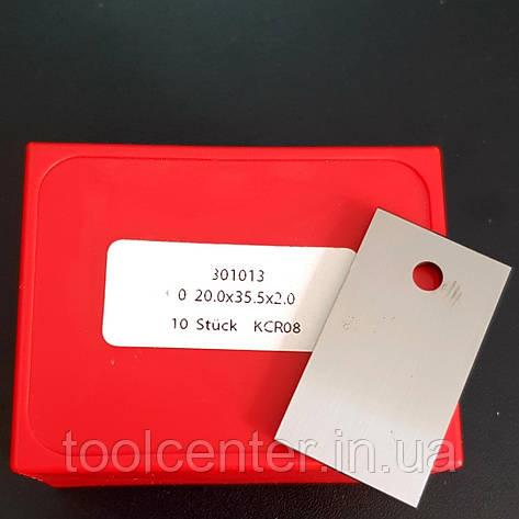 Бланкета HW: 35x20x2,0mm KCR0; 1 отвір, фото 2