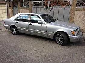 Дефлектора окон Mercedes Benz S-klasse (W140) Sd 1990-1998