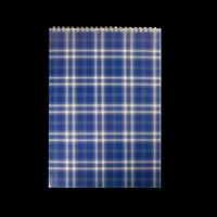 Блокнот на пружині зверху SHOTLANDKA, А4, 48 аркушів, клітинка, синій