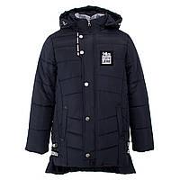 Куртка-ТРАНСФОРМЕР зимняя-демисезонная для мальчика Нью-Йорк 134,140,146,152см сьемний жилет