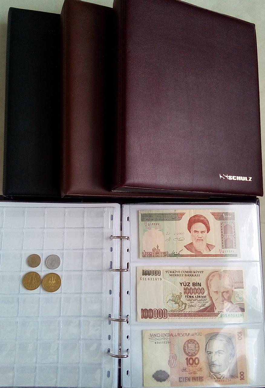 Альбом для монет и банкнот Schulz Collection 261 ячейка
