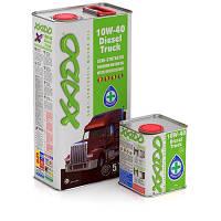 ПОЛУСИНТЕТИЧЕСКОЕ МОТОРНОЕ МАСЛО XADO Atomic Oil 10W-40 Diesel Truck 5л