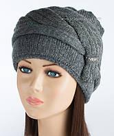 Темно-серая шапка Дарина