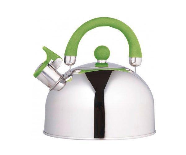 Чайник зі свистком Unique UN-5302 (2,5 л) з нержавіючої сталі, для всіх типів плит