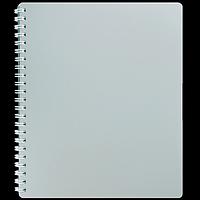 Зошит для записів на пружине CLASSIC, B5, 80 аркушів, клітинка, сірий