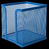 Бокс для паперу BUROMAX, металевий, синій