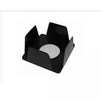 Бокс для паперу 90х90х45мм, чорний