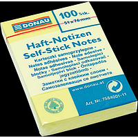 Блок для нотаток 51х76 мм, 100 арк.
