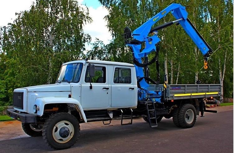 Автомобили с краноманипуляторными установками (КМУ)