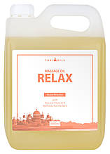Професійне масажне масло «Relax» 3л