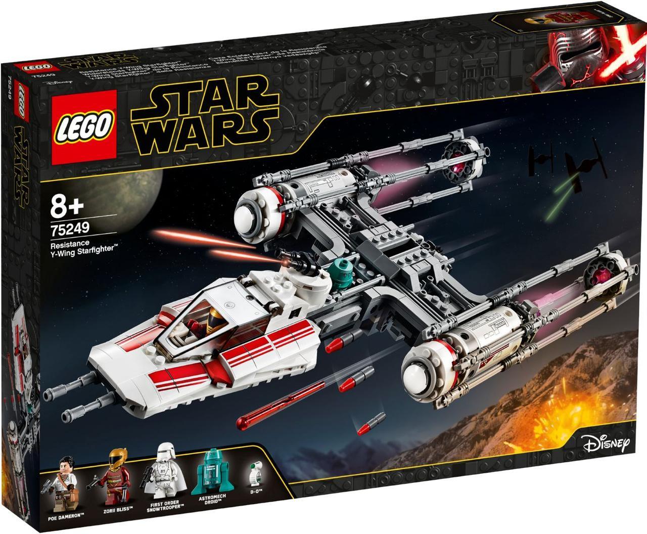 Lego Star Wars Звёздный истребитель Повстанцев типа Y 75249