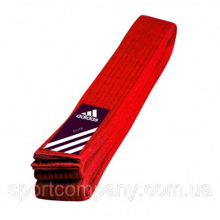Пояс для кимоно Adidas Elite красный