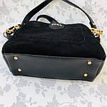 Женская сумка черная замш Zara   (1534), фото 7