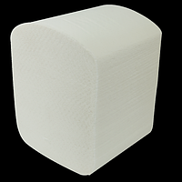 Папір туалетний листова целюлоза., 2-х сл., 150шт. білий
