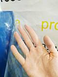 Пленка ПВХ текстильная 100 мкм. плотность.Рулон 154м,ширина 1.50м.Прозрачная.Силиконовая.Текстильная, фото 2