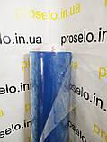 Пленка ПВХ текстильная 100 мкм. плотность.Рулон 154м,ширина 1.50м.Прозрачная.Силиконовая.Текстильная, фото 3