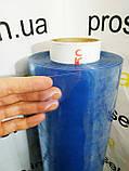 Пленка ПВХ текстильная 100 мкм. плотность.Рулон 154м,ширина 1.50м.Прозрачная.Силиконовая.Текстильная, фото 5