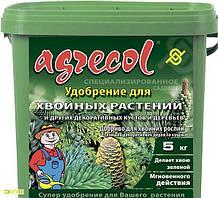 Комплексное минеральное удобрение для хвойных растений, 5 кг NPK 14.14.21 Агрекол