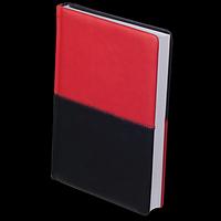 Щоденник недатований QUATTRO, A5, червоний + чорний, фото 1