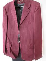 Костюм тройка с бордовым пиджаком, фото 1