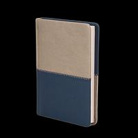 Щоденник недатований QUATTRO, A6, синій + сірий, фото 1