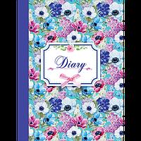 Щоденник недатований LAURA, A5, синій
