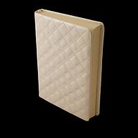 Щоденник недатований DONNA, A5, білий, фото 1