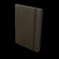 Щоденник недатований CASTELLO, A5, чорний, фото 1