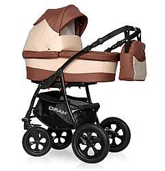 Детская коляска универсальная 2 в 1 Riko Basic Mario05 (Рико Бейсик Марио, Польша)