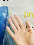 Пленка ПВХ силиконовая 150 мкм. плотность.Рулон 103м.Ширина 1.50м.Прозрачная.Текстильная, защитная, фото 3