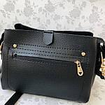 Женская сумка черная замш Zara   (1515), фото 8