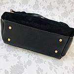 Женская сумка черная замш Zara   (1515), фото 7