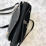 Женская сумка черная замш Zara   (1515), фото 9
