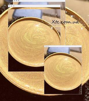 Перламутровая краска золото