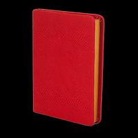 Щоденник недатований AMAZONIA, A6, 288стр. червоний, фото 1